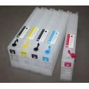 Cartuccia riempibile con chip Ciano per Epson SureColor T3200 / T5200 / T7200